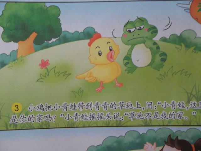 小班语言 小青蛙找家