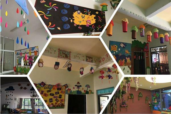 瑞吉欧幼儿园2016年秋季环境创设报道图片