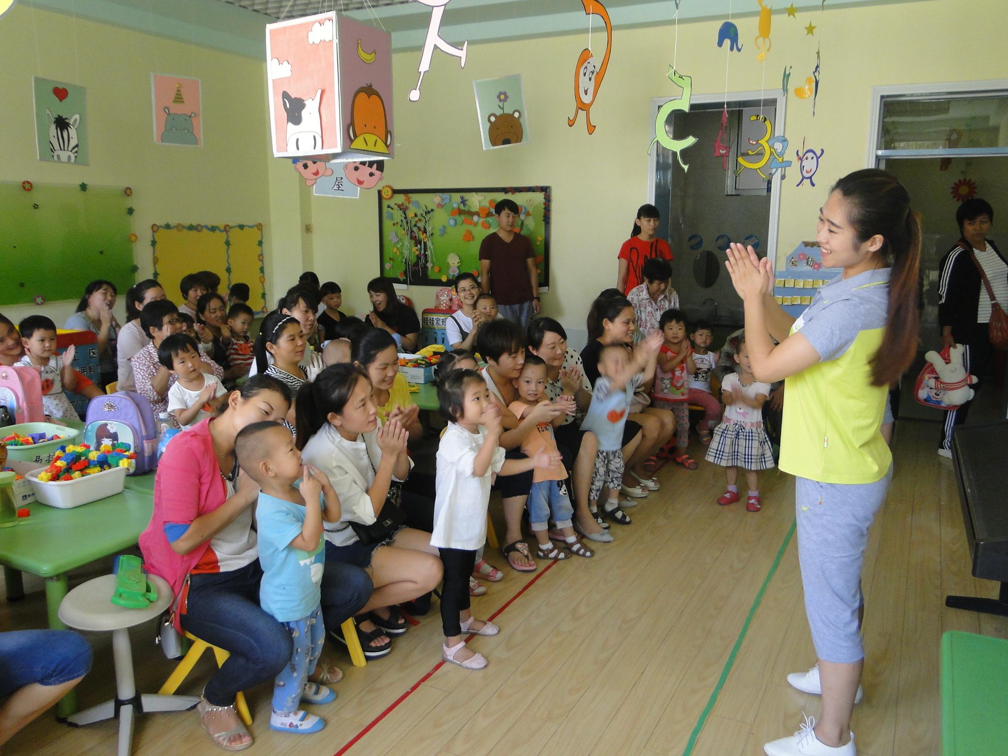 河西小学幼儿园迎接新生入园系列活动