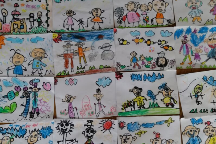 霍山新徽幼儿园开展重阳节主题教育活动