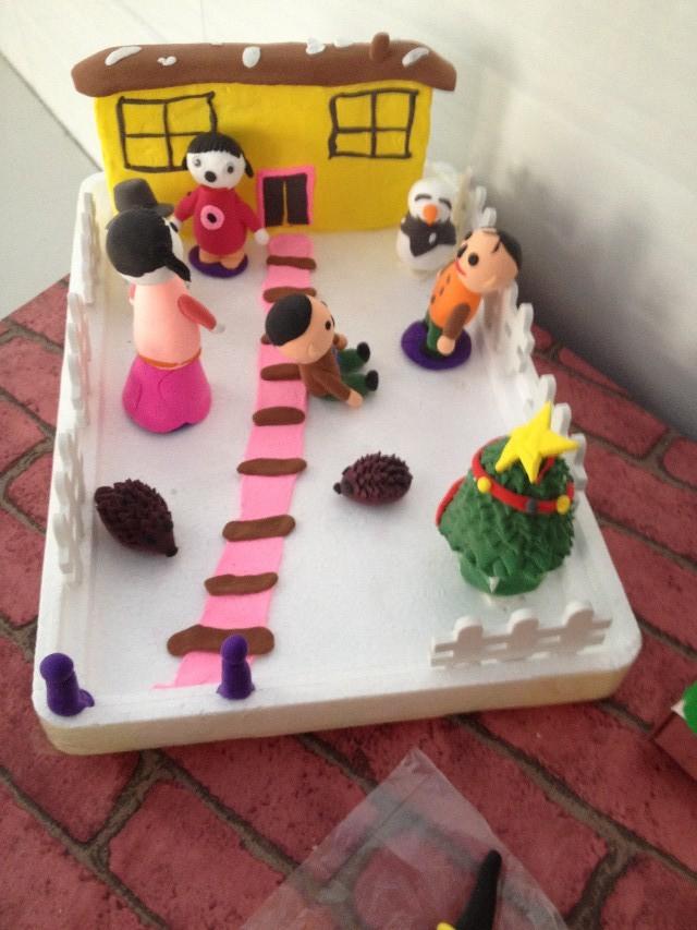 超轻粘土 ,超浓亲情 ——机关幼儿园亲子轻粘土制作大赛
