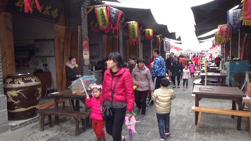 泗县蓓蕾幼儿园亲子体验活动:民俗体验