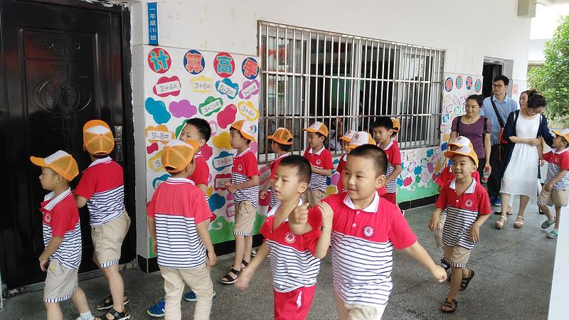 市幼儿园大班开展幼小衔接课程