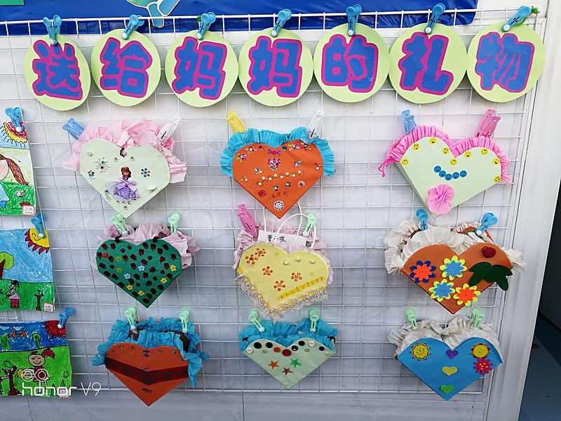 市幼儿园师生倾力打造春天主题墙