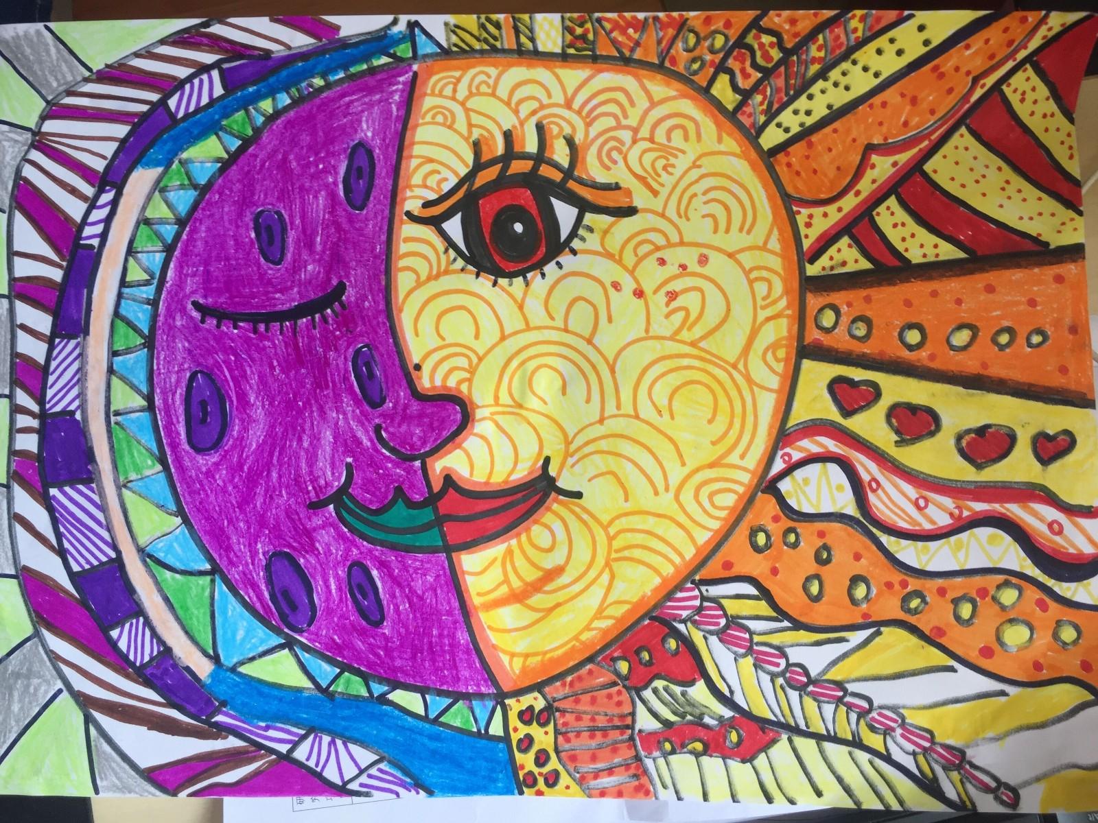 拥抱太阳的月亮,大二黎颖�H