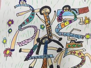 中一班幼儿美术作品1